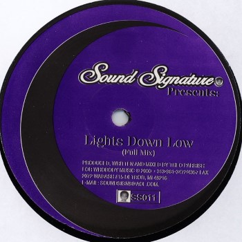 "Parrish, Theo: Lights Down Low [12""]"