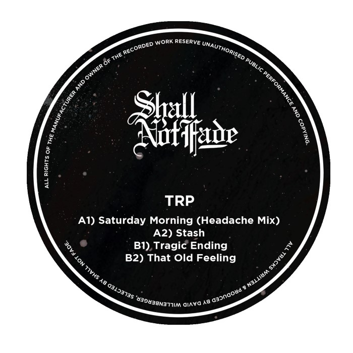 "TRP: Saturday Morning EP [12""]"
