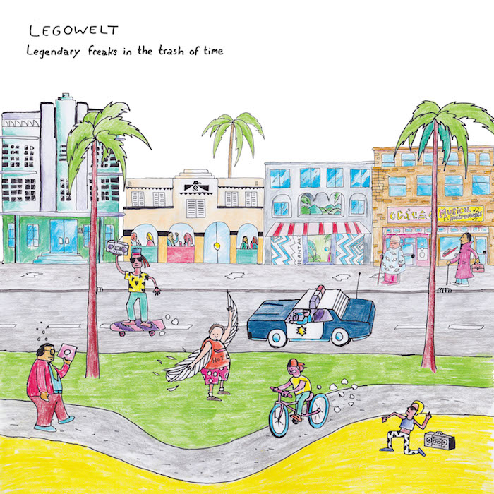 Legowelt: <br>Legendary Freaks In The Trash Of Time [2xLP]