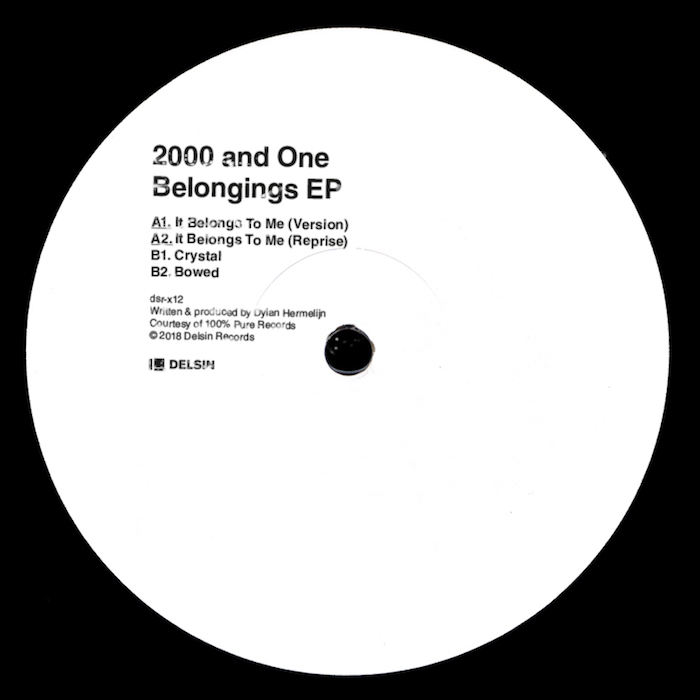 "2000 And One: Belongings EP [12""]"