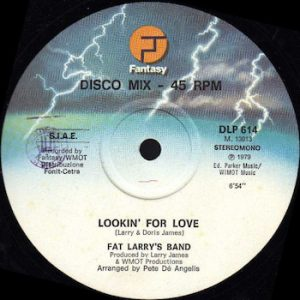 "Fat Larry's Band: Lookin' For Love [12""]"