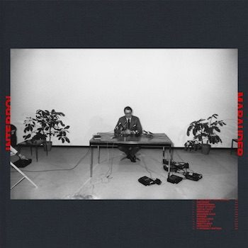 Interpol: Marauder [LP couleur]