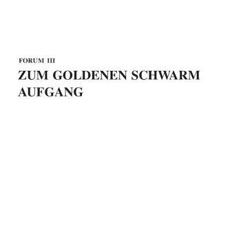 Zum Goldenen Schwarm: Aufgang [2xLP]
