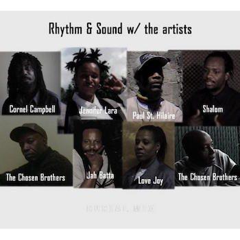 Rhythm & Sound: With The Artists [LP]