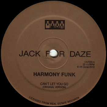 "Harmony Funk: Can't Let You Go [12""]"