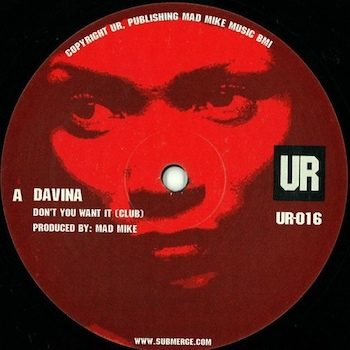 "Davina: Don't You Want It [12""]"