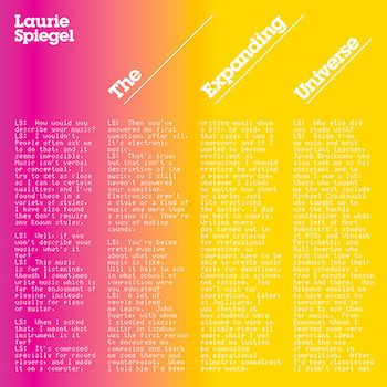 Spiegel, Laurie: The Expanding Universe [2xCD]