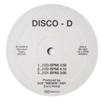 "Disco D: Dance Tracs [12""]"