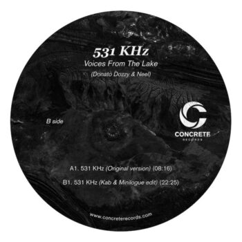 """Voices From The Lake: 531 Hz — incl. Kab & Minilogue remix [12""""]"""