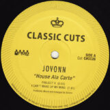 "Jovonn: House Ala Carte [12""]"