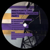 "Area Forty_One: Nocturnal Passions Part I [12""]"