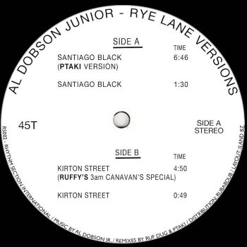 "Dobson Jr., Al: Rye Lane Versions [12""]"