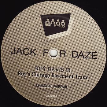 "Davis Jr., Roy: Roy's Chicago Basement Traxx [12""]"