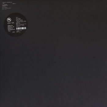 """Aphex Twin: Computer Controlled Acoustic Instruments pt.2 EP [12""""]"""