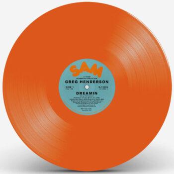 """Henderson, Greg: Dreamin' [12"""", vinyle orange]"""