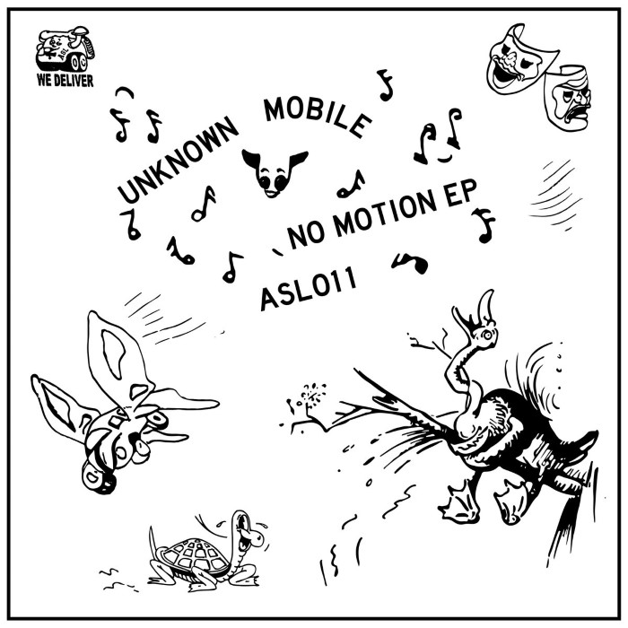 """Unknown Mobile: No Motion EP [12""""]"""