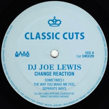 """DJ Joe Lewis: Change Reaction [12""""]"""