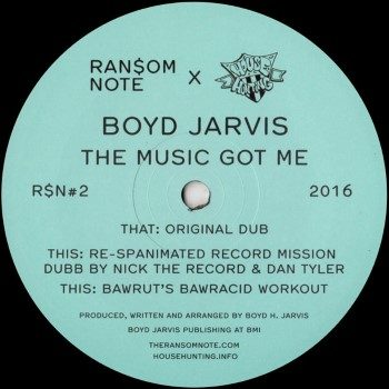 """Jarvis, Boyd: The Music's Got Me [12""""]"""