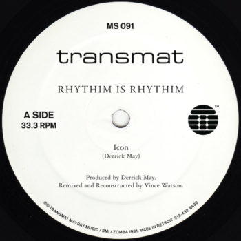 """Rhythim Is Rhythim: Icon / Kao-Tic Harmony - Remixed & Re-Constructed [12""""]"""