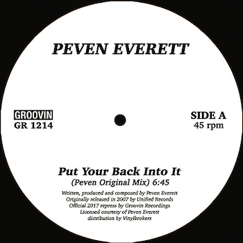 """Everett, Peven: Put You Back Into It [12""""]"""
