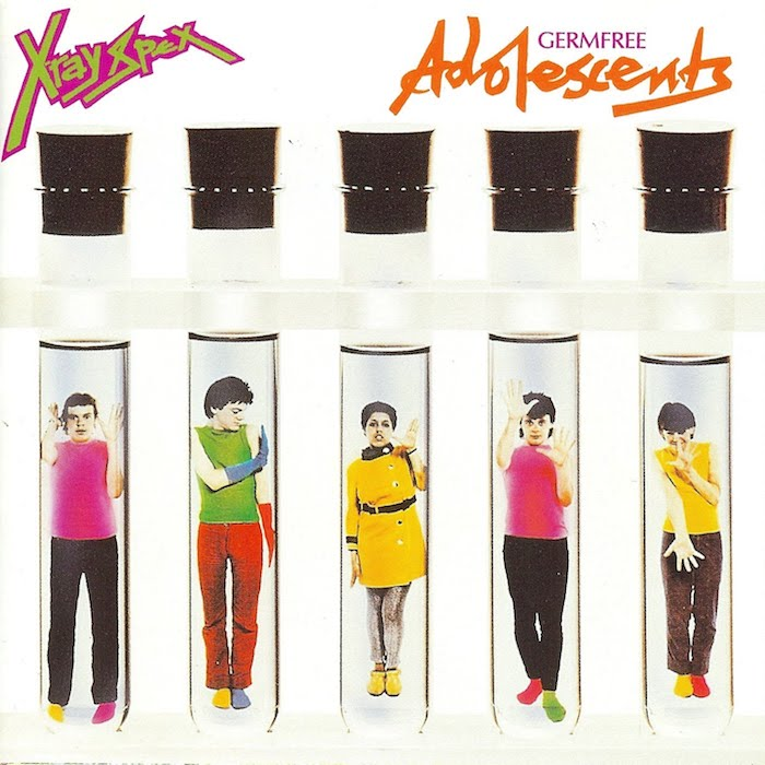 X-Ray Spex: Germfree Adolescents [LP couleur]