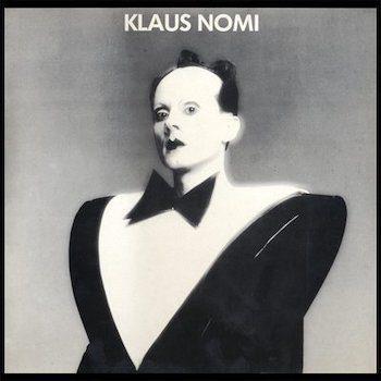 Nomi, Klaus: Klaus Nomi [LP marbré noir et blanc]