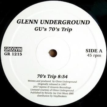 "Glenn Underground: G.U.'s 70's Trip [12""]"