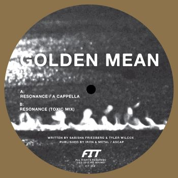 "Golden Mean: Resonance [12""]"