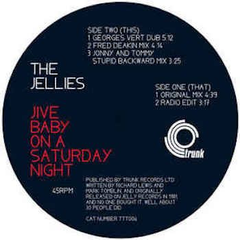 "Jellies, The: Jive Baby On A Saturday Night [12""]"