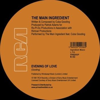 """Main Ingredient, The: Hapiness Is Just Around The Bend / Evening of Love [12""""]"""