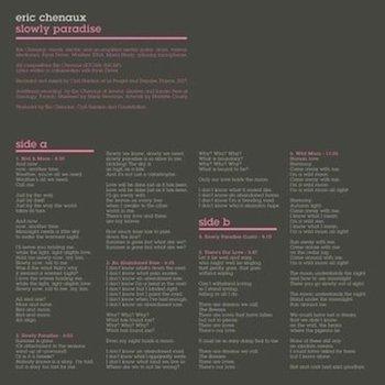Chenaux, Eric: Slowly Paradise [CD]