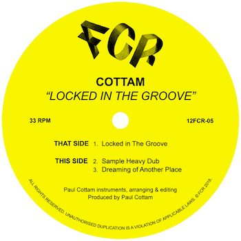 """Cottam: Locked In The Groove [12""""]"""