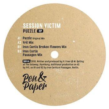 """Session Victim: Puzzle EP - incl. remixes par Vril & Iron Curtis [12""""]"""