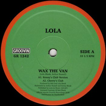 "Lola: Wax The Van [12""]"