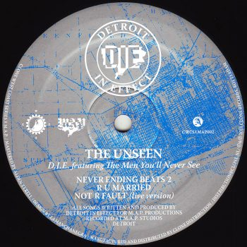"D.I.E. feat. The Men You'll Never See: The Unseen [12""]"