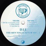 """D.I.E.: The Men You'll Never See Part 2 [12""""]"""
