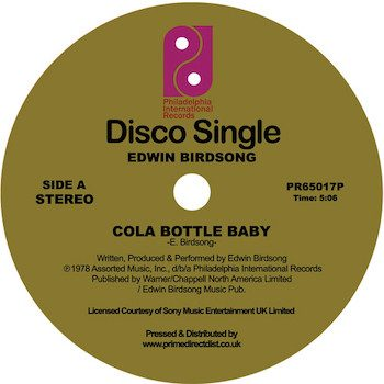 "Birdsong, Edwin: Cola Bottle Baby [12""]"