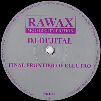 "DJ Di'jital: Final Frontier Of Electro [12""]"