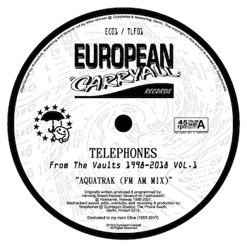 """Telephones: From The Vaults 1998-2018 Vol. 1 [12""""]"""