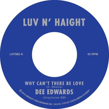"Edwards, Dee: Why Can't There Be Love / I Can Deal With That [7""]"