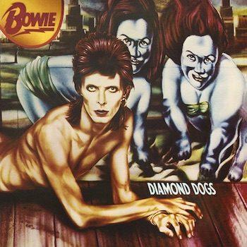 Bowie, David: Diamond Dogs – édition 45e anniversaire [LP rouge]