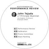 "Tejada, John: Performance Review [12""]"