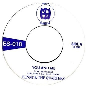 "Penny & The Quarters: You And Me / Some Other Love [7"" coloré]"