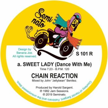 "Chain Reaction: Sweet Lady (Dance With Me) / Changes [12""]"