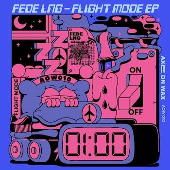 "Fede Lng: Flight Mode EP - incl. remixes par Yu Su & Ciel [12""]"