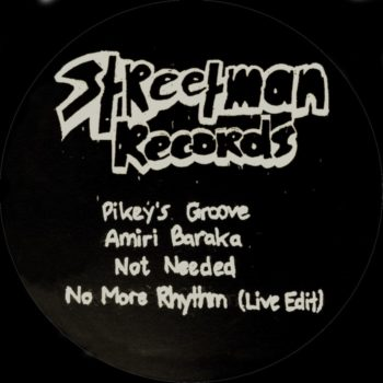 "Streetman Records: ST002 [12""]"