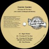 """Cosmic Garden: Promise Of The Sun - incl. remix par Glenn Underground [12""""]"""
