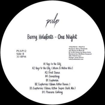 "Barry Helafonte: One Night - incl. Glenn Astro & Moon B [12""]"