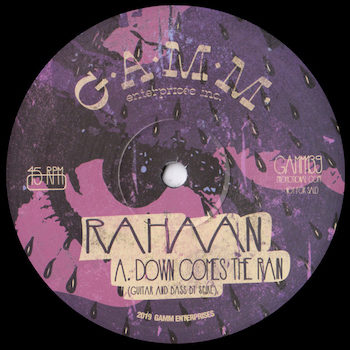 "Rahaan: Down Comes The Rain / YCHYC [12""]"