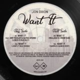 "Dixon, Jon: Want It [12""]"
